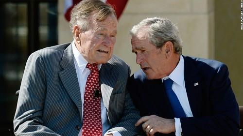 Bush 41 calls Trump a 'blowhard'; White House strikes back