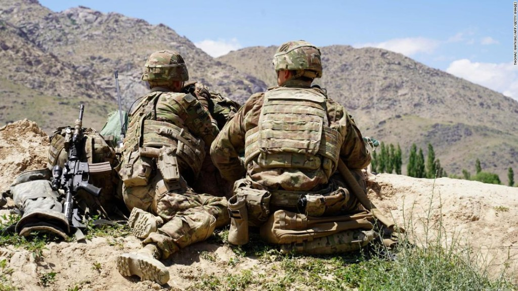Russian intelligence officers offered cash rewards to Taliban fighters to kill US, UK troops in Afghanistan, source says