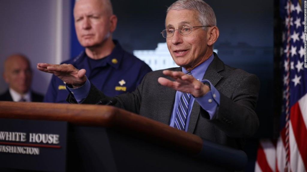 Fauci says it's time to think about reopening schools