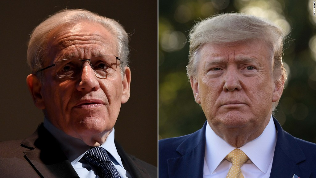 'Golden nuggets': Trump explains to Woodward why judges are key to his record