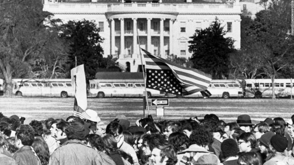 How past US presidents engaged with activists and mass protests