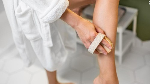 If you're not dry brushing your skin, here's why you should consider it