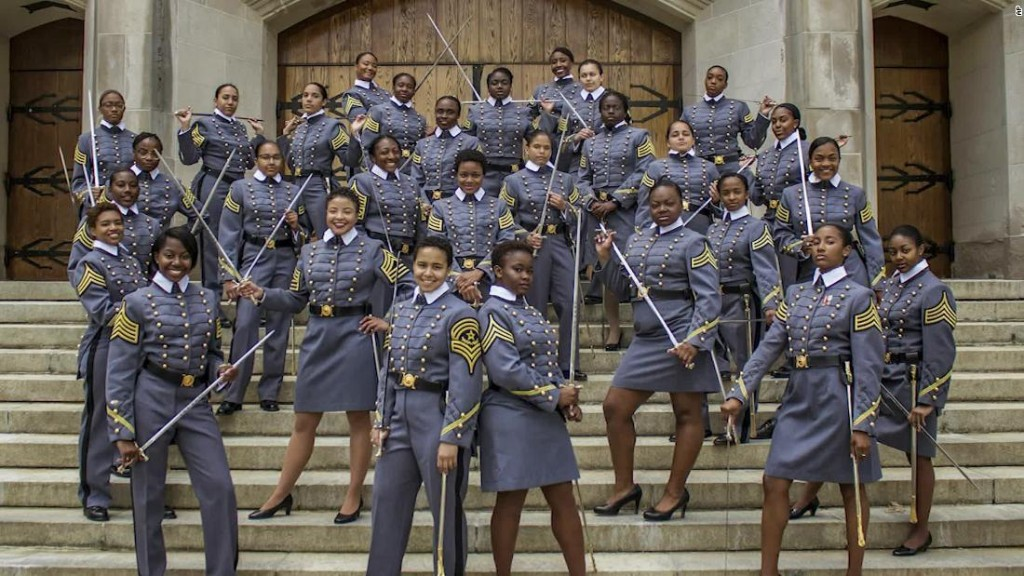 West Point class displays historic diversity