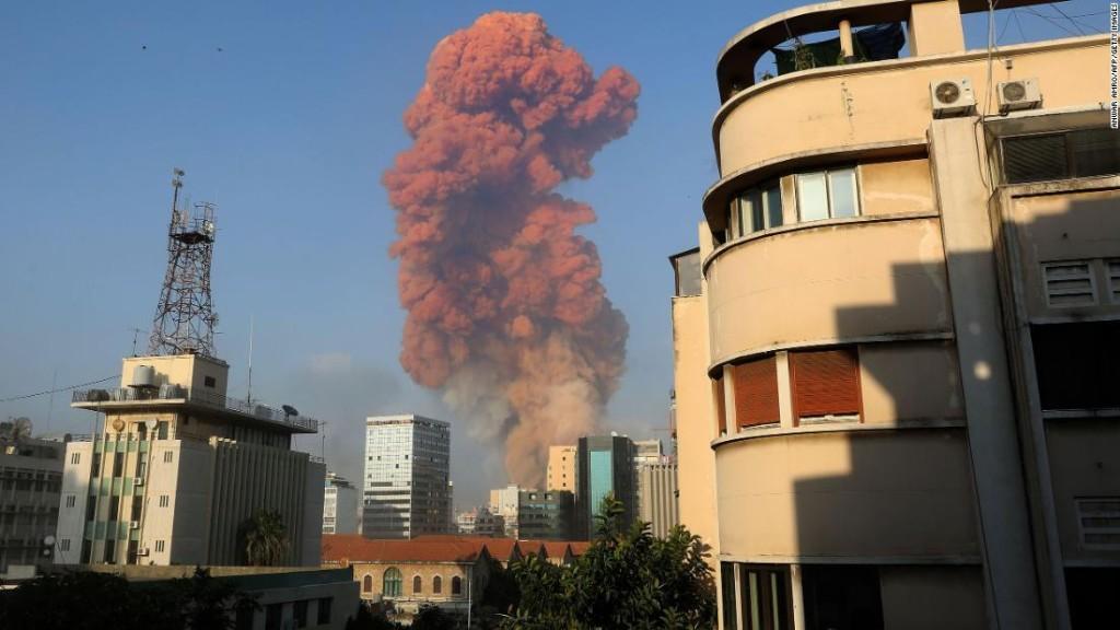 Huge explosion rocks Beirut, injuring thousands across Lebanese capital