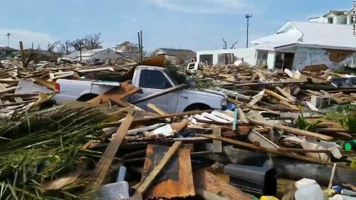 The Bahamas' hurricane death toll is rising fast as survivors try to get out
