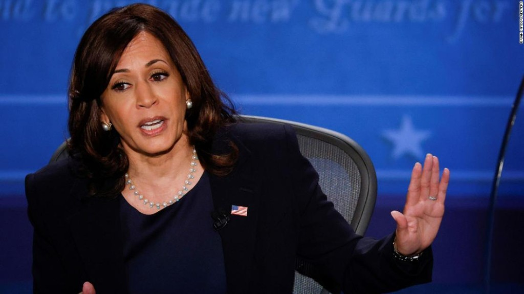 Opinion: Harris' toughest debate opponent wasn't Pence but a stereotype