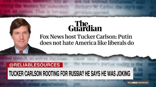 Tucker Carlson and the Russification of the GOP