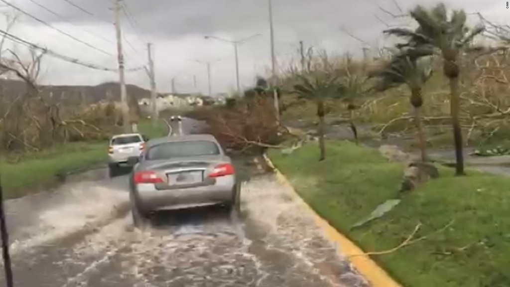 The drive that shows how badly Puerto Rico was hit
