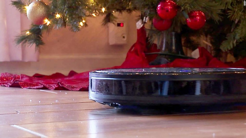 A couple called 911, thinking an intruder had entered their home. It was actually their robotic vacuum