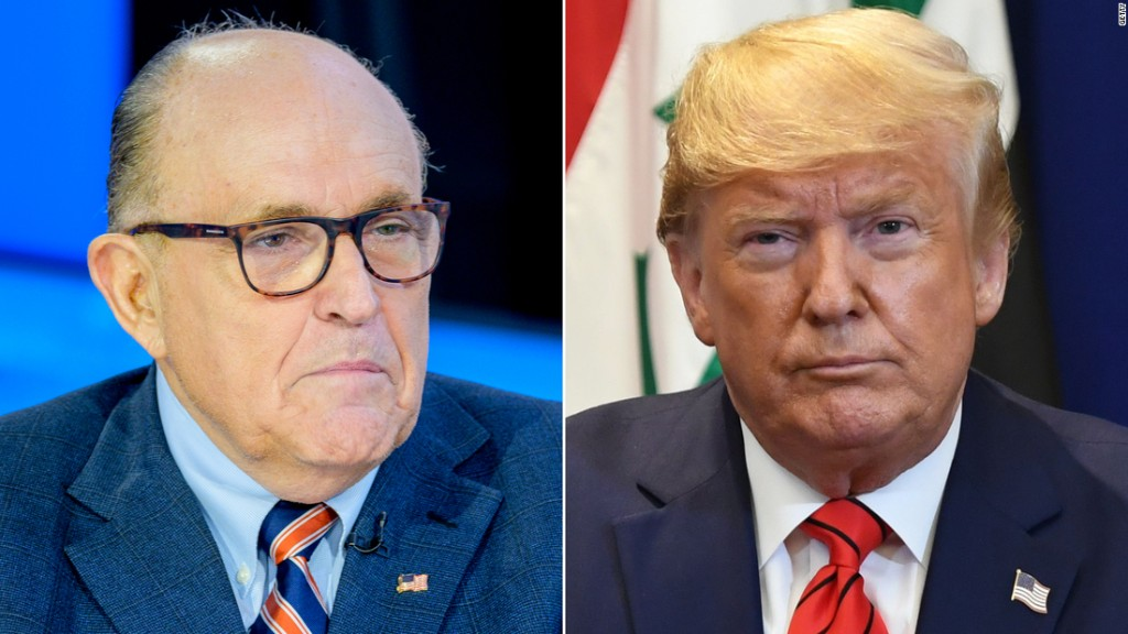 Fact-checking Giuliani and the Trump legal team's wild, fact-free press conference