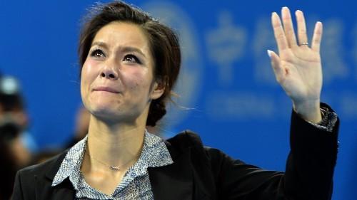 Li Na: Tennis glitterati bid long goodbye to a great