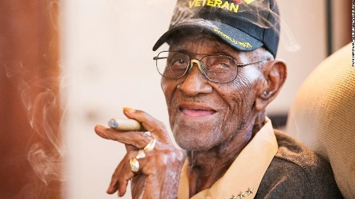 Thieves emptied the bank account of America's oldest living veteran