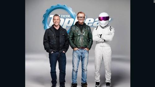 Matt LeBlanc jumps into the 'Top Gear' driving seat