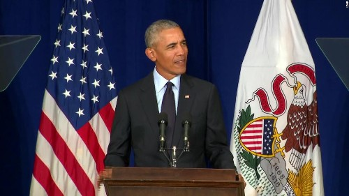 Obama: Trump is 'capitalizing on resentment'