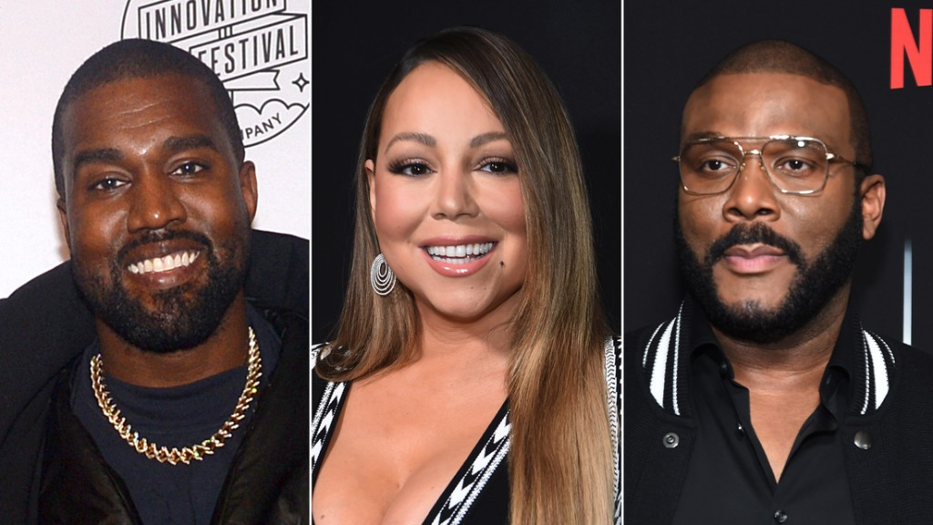 Kanye West, Mariah Carey and Tyler Perry set to appear at virtual Easter service