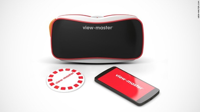 The View-Master is back. Now it's virtual reality for kids.