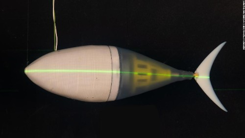 This robot fish could be used for defensive surveillance