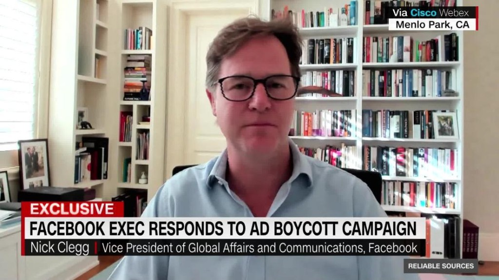 Facebook VP on ad boycott: We have 'no incentive' to allow hate speech