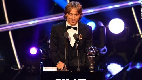 Luka Modric beats Ronaldo and Salah to win Best FIFA Men's Player award