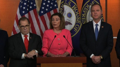 House sends two articles of impeachment to the Senate