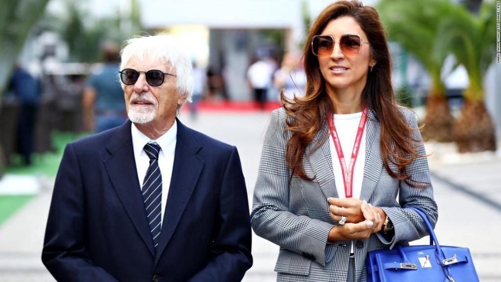 Former F1 mogul Bernie Ecclestone to be a father again at 89