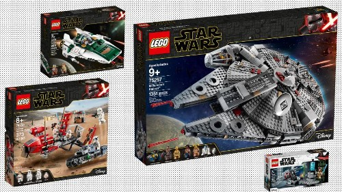Lego unveils eight 'Star Wars' sets to celebrate Triple Force Friday