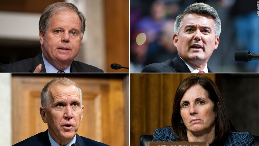 The 10 Senate seats most likely to flip 5 weeks from Election Day