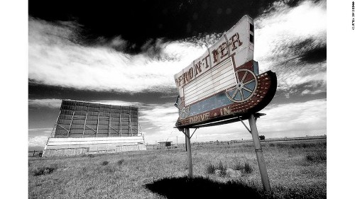 Drive-in days: America's abandoned movie theaters