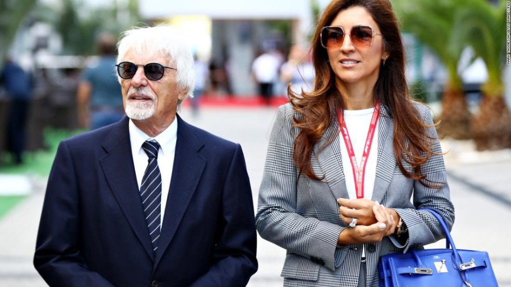Bernie Ecclestone becomes a father at 89