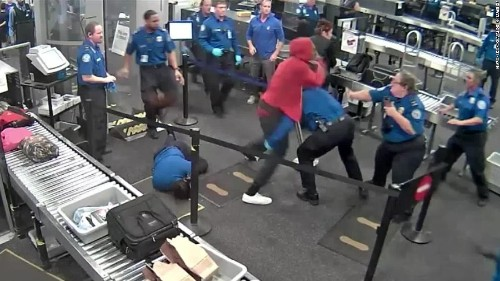 Man injures 5 TSA agents while rushing through security at Phoenix airport, authorities say