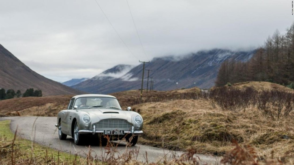 A new James Bond Aston Martin for $3.5 million - battering rams included