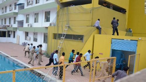 3 mauled as leopard wreaks havoc at Indian school