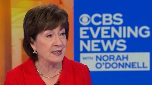 Susan Collins' beyond-laughable explanation for her impeachment vote