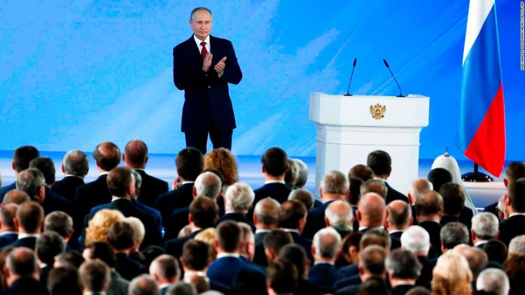 Putin is sending a message to the world with his shock announcement