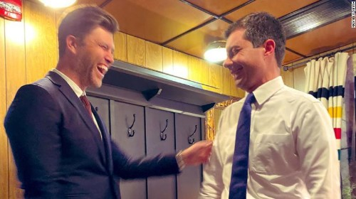 From Harvard to SNL: How Pete Buttigieg and Colin Jost are crossing paths 15 years later