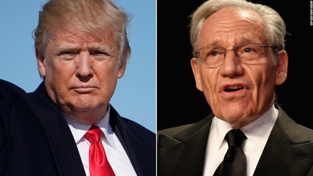 Woodward: Trump's grade is more sad than the Nixon tapes