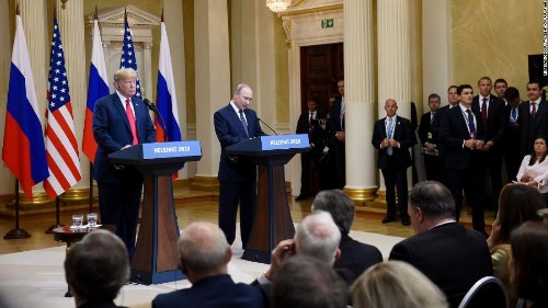 You just aren't smart enough to understand what Donald Trump was doing with Vladimir Putin