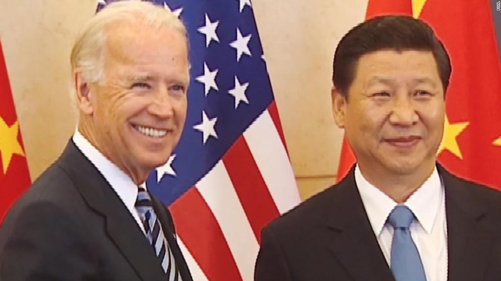 Chinese leader Xi Jinping congratulates Biden on winning election