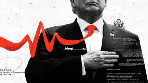 The mystery of President Trump's unannounced hospital visit