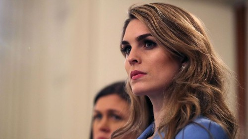 Former Trump confidante Hope Hicks to cooperate with House Democratic probe into Trump