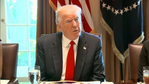 Trump calls House health care bill 'mean'