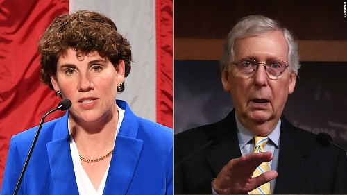 McConnell's likely Democratic challenger raises $10.7 million In three months