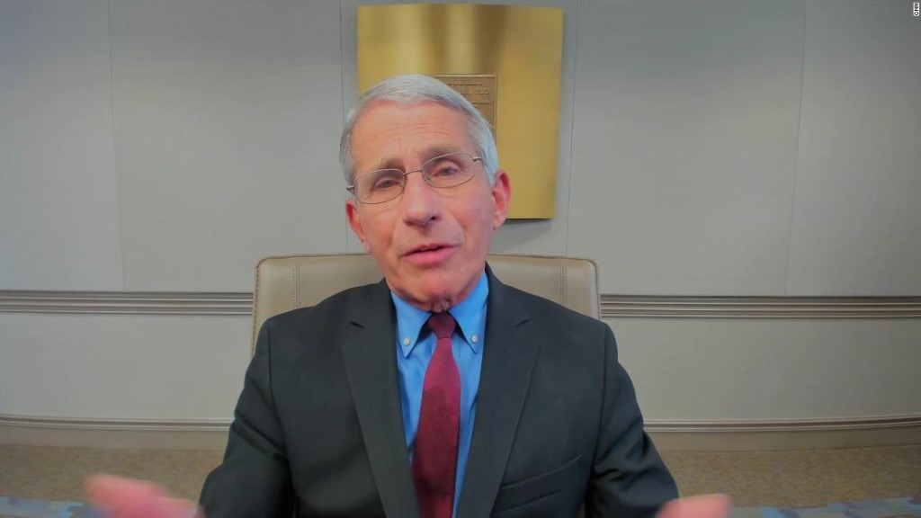 Fauci: Science shows hydroxychloroquine is not effective as a coronavirus treatment