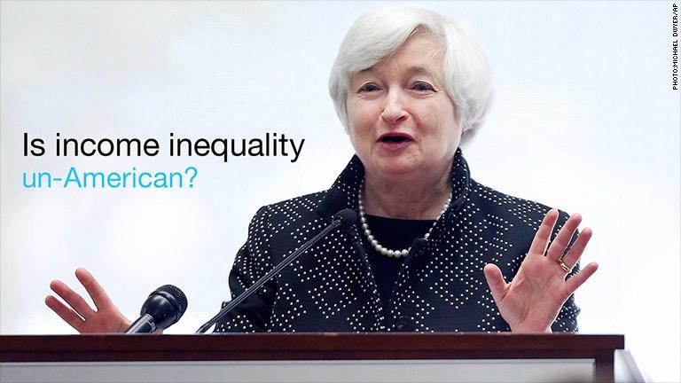 Rich-poor gap 'concerns me': Yellen
