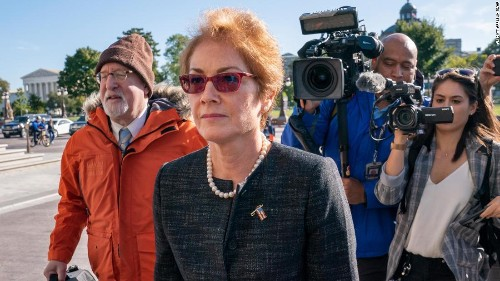 5 explosive lines from ex-ambassador Marie Yovanovitch's statement to Congress