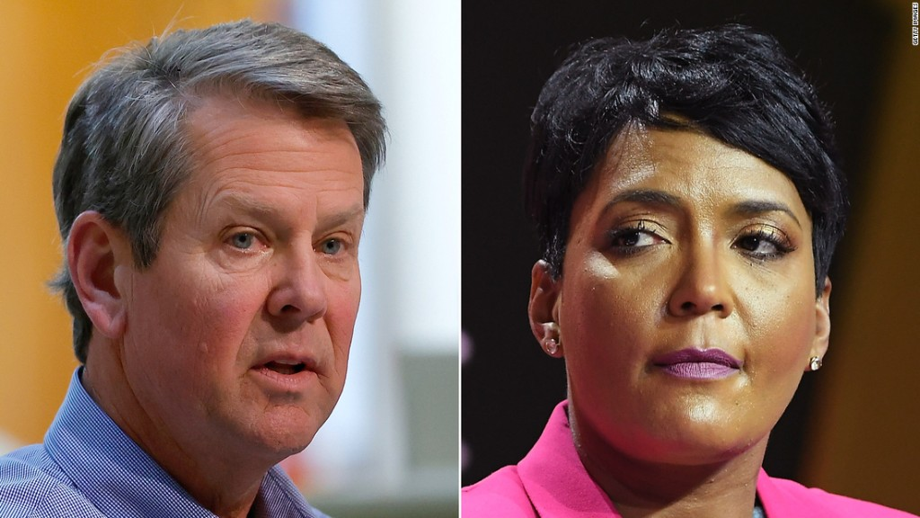 Georgia governor withdraws lawsuit challenging Atlanta mayor's mask mandate