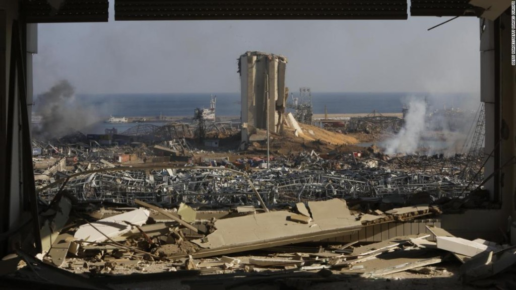 Lebanon's government steps down in wake of Beirut blast