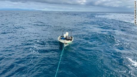 Teen rescued trying to cross New Zealand's South and North Islands in dinghy at night
