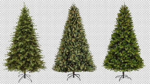 Pre-lit Christmas trees are on sale at Amazon, today only