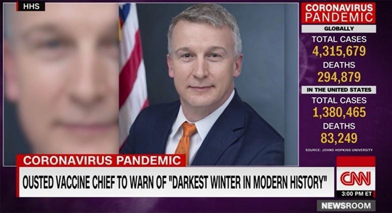 """مسؤول صحي أمريكي معزول يحذر من """"الشتاء الأكثر ظلمة بالتاريخ المعاصر"""" دون رد على كورونا"""